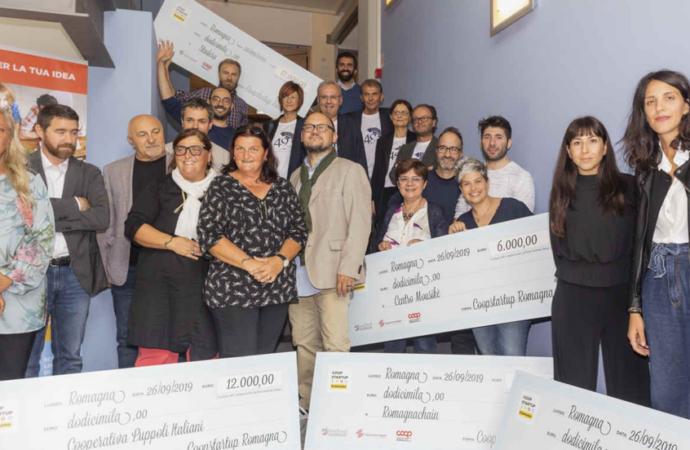Coopstartup Romagna premia sei progetti per nuove cooperative