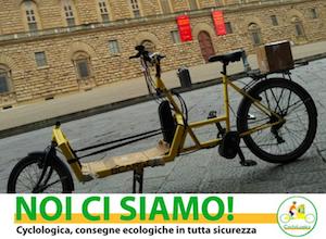 A Firenze i libri arrivano a casa sui pedali di CycloLogica